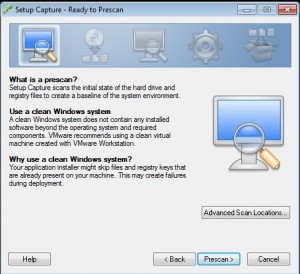 How to ThinApp the vSphere 5.1 vCenter Client for Windows 7 Step 2