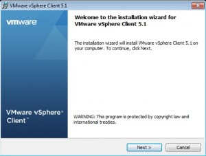 How to ThinApp the vSphere 5.1 vCenter Client for Windows 7 Step 7