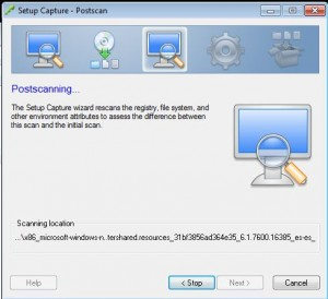 How to ThinApp the vSphere 5.1 vCenter Client for Windows 7 Step 11