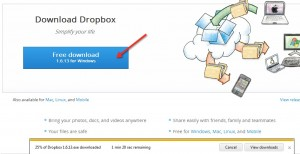 How to ThinApp DropBox Step 1