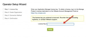 Installing and Configuring VMware Horizon Application Manager Step 2