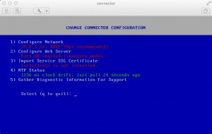Installing and Configuring VMware Horizon Connector Step 2