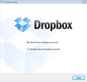 How to ThinApp DropBox Step 3