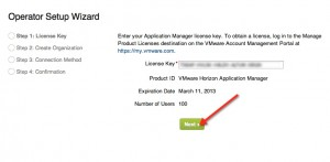 Installing and Configuring VMware Horizon Application Manager Step 3