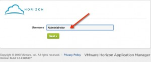Installing and Configuring VMware Horizon Connector Step 5