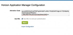 Installing and Configuring VMware Horizon Connector Step 7