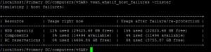 vSAN RVC vsan.whatif_host_failures